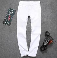 apparel clothing designer - 2016 hot sale men jeans pants Fashion famous Designer models men s Hiphop slim pants clothing men Apparel