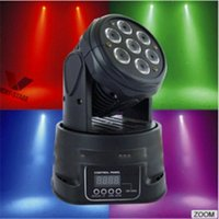 ans light - Moving Head Light with beam ans wash light W LED Mini Moving Head Light