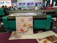 Wholesale 2 m m Large UV Flatbed Printer for various rigid material