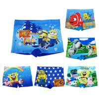 Wholesale Finding Dory Swim Shorts Cartoon printing boy baby boy s wear boutique clothing Unlucky bear yellow people Swim Trunks