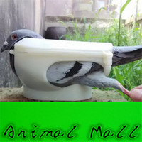 Wholesale 2016 New Pigeon holder Columba Bird Clothes Given medicines device Bird Tools White Pigeon and retail