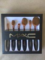 Wholesale M Foundation Brush BBCC Cream Makeup Brushes Supply set Makeup Brushes Tools Toothbrush Foundation Brush kits DHL