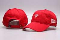 baseballs baseball diamond - Fashion Ball Caps Wine Red Diamond Hat Baseball HipHop Snapback Sport Cap Cheap Men Women LK Adjustable Popular casquette
