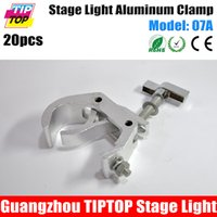 Wholesale Freeshipping Model Number A KG HOT TIPTOP Stage Lighting C Clamp Hook Mount Projector Aluminum Alloy Hook mm Screws Clamp