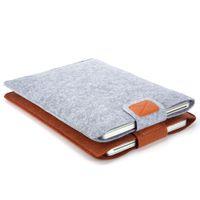 Wholesale Premium Soft Sleeve Bag Case Notebook Cover for quot quot quot Macbook Air Pro Retina Ultrabook Laptop Tablet PC Anti scratch