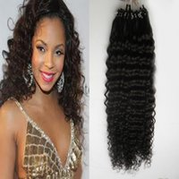 apply ring - Brazili Kinky Curly Micro Ring Bead Loop Hair Extension Curly Hair s Apply Natural Hair Micro Link Hair Extensions Human s
