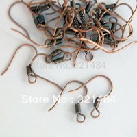 Cheap 2000X 18mm antique copper french earring hooks wires clasps jewelry findings accessoires for diy beads making