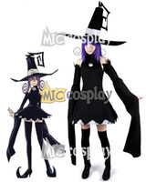 Wholesale Anime New Hot Black Soul Eater Blair Cosplay Costume Halloween Party Dress Clothing