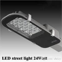 Wholesale 24W LED Street Lights E40 Road Lamp waterproof IP65 AC85 V led street light Industrial light outdoor lighting lamps