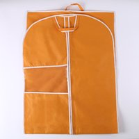 Wholesale customized G non woven garment bag dress cover suit storage with pvc window