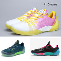 beach sneakers - New Kobe Venomenon Dreams Sneakers Teal Men Basketball Shoes Chaos Sports Shoes South Beach Footwear Court Purple Clippers