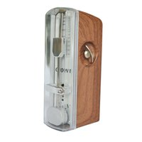 best metronomes - Best Selling Portable Mini Mechanical Metronome Light Mahogany Wood Case