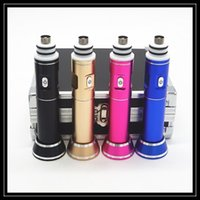 Cheap 2016 Hand Mini Dnail Kit H-Dnail Vaporizer H-Dnail Vape Temp Control TC Mode with Glass Pipe GR2 Titanium Carb Caps Portable Dabber Nails