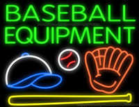 advertisement equipment - Baseball Equipment Handcrafted Neon Sign Real Glass Tuble Light Sport Game Room Display Sign Shop Store Advertisement Sign quot x24 quot