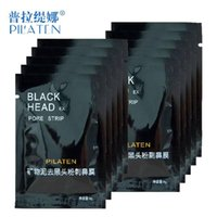 facial mask - 1000pcs Face Care PILATEN Nose Facial Blackhead Remover Mask Minerals Pore Cleanser Black Head EX Pore Strip