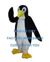 antarctic animals - Emperor Penguin Mascot Costume Deluxe Adult the Antarctic Animal Black Panther Cosply Costume Carnival Mascotte Mascota SW1078