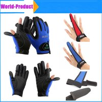 Wholesale Waterproof Durable Anti cut Anti Slip single Finger Fishing Gloves and Neoprene Gloves Folding Fingers for fishing hunting