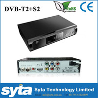 Cheap SYTA Digital TV Receiver HD Combo DVB-S2 DVB-T2 Sattelite TV Receiver Arabic IPTV Set Top Box S1024C