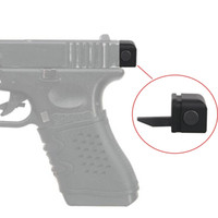 Wholesale New Aluminum Tactical Back Plate For Glock Pistols Hangun full auto for glock