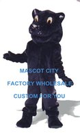 adult patrick costumes - Patrick Panther Mascot Costume Deluxe Adult Size Forest Wild Animal Beast Cosply Costume Carnival Mascotte Fit Kit SW1074