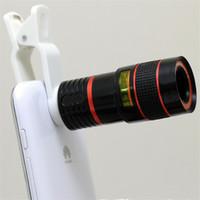 Wholesale Universal Clip X Zoom Mobile Phone Telescope Lens Telephoto External Smartphone Camera Lens for Smartphone PC Laptop