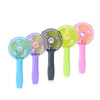 Wholesale USB charging handheld mini fan dormitory desktop portable small fan gifts hot mute
