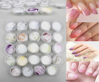 acryl nail powder - Acrylic Powder Acrilico Acryl Polvo Colored Nagels Poudre Jar Color Glitter Nails Art Clear Polymer Supplies Beautiful Pulver