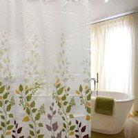 best bathroom curtains - Best Promotion Modern European Leaf Leaves CM CM Waterproof Bathroom Shower Curtain Polyester With Hooks