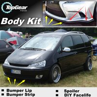 Wholesale Bumper Lip Lips For Ford Galaxy Front Skirt Deflector Spoiler For Car Tuning The Stig Recommend Body Kit Strip
