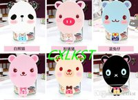 Wholesale Makeup Mirror Cute Mini Animal Carton Shaped Design With Comb Tool For Lady Women Good Quality
