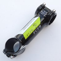 Wholesale sale new FCFB FW green alloy k carbon fiber road bicycle stem mountain bike parts stem60 mm