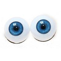 bebe cheap - Cheap Reborn Doll Pairs Sky Blue Acrylic Eyeballs for Reborn Bebe mm mm Half Round Doll Eyeball Eyes for Reborn Babies Doll