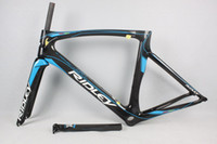 Wholesale 12 color painting Ridley T800 full carbon fiber road bike frame UD accept customizable years guarante