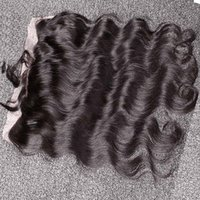 Cheap Frontal Closure 13x4 Bleached Knots Brazilian Hair Body Wave Hair Weaves Ear To Ear Lace Frontals Pieces Human Hair Lace Frontals Bellahair