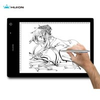 Wholesale HUION WIRELESS Inch LED Tracing Artcraft Tattoo Quilting Drawing Tracing Light Pad Light Box LB4