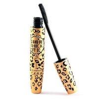 beauty leopard - Top Makeup Lashes Mascara D Fiber Leopard Eyelash Extension Natural Lengthening Long Curling Women Eyes Beauty Care Full Size