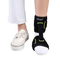 afo brace - Adjustable Nightime Ankle Brace Support AFO Orthotics Strap Elevator Plantar Fasciitis Foot Cramps Preventing Foot Drop