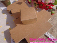 Wholesale x62x32mm Kraft Candy Box Handmade Soap Box Jewelry Packing Gift Box Packaging Boxes