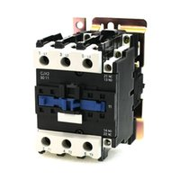 ac coil relay - Rated Current A Poles NC NO V Coil Ith A AC Contactor Motor Starter Relay DIN Rail Mount