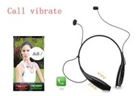 Wholesale Wireless Bluetooth Earphone Sport Stereo Headset headphone Neckband Style With MIC Bass For Phone LG Android