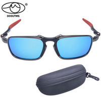 Wholesale Original New sunglasses Men Alloy Polarized Badman Fire Iridium Man google With Logo gafas sol polarizadas espejo