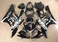 abs bodykit - 3 Free Gifts New ABS plastic Fairing Kits Fitment for YAMAHA R6 YZF600 YZF R6 yzf r6 bodykit set black white FIAT