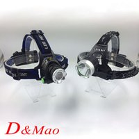 bicycle headlamps - Hotest LM XM L T6 LED Zoomable Headlight Modes Bike Bicycle Flashlight Head Light Outdoor Camping Only Headlamp