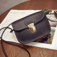 Wholesale Sliver Black White Red Rose Gold Button Chain single shoulder Girl gift fashion handbags mini shoulder bags