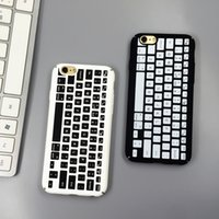best apple keyboards - best price cellphone case new hot fashion high quality with keyboard pattern plastic for iphone