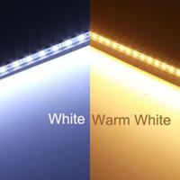 Wholesale 50pcs cm SMD DC12V led Bar Rigid LED light U Aluminum shell PC cover