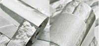 Wholesale 2016 latest and fashion d imitation brick pattern nonwoven wallpaper Retro wallpaper anti bacterial noise absorption moisture proof