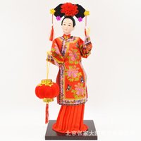 antique unit - Chinese gift inch silk man opera Peking Opera crafts ornaments shipping unit meeting of foreign affairs cultural gifts
