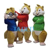 alvin the chipmunk - 2014 Hot Sale New Alvin and the Chipmunks Mascot Costume Alvin Mascot Costume