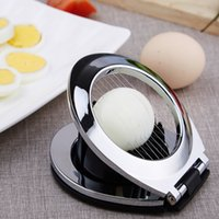 Wholesale Stainless Steel Multifunction Egg Cutter Kitchen Gadget Combo Zinc Alloy Cutting Device Home Furnishing Egg Creative Activities